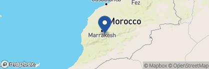 Map of Kasbah Bab Ourika, Morocco