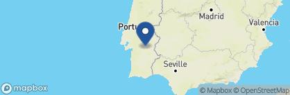 Map of Pousada Convento de Évora, Portugal