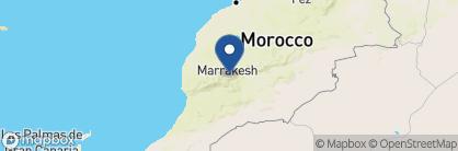 Map of Kasbah Du Toubkal, Morocco
