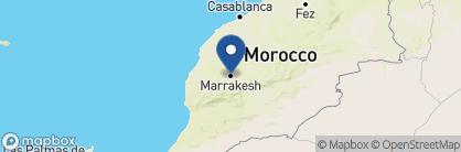 Map of Riad Palais Khum, Morocco
