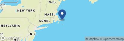Map of Platinum Pebble Boutique Inn, New England