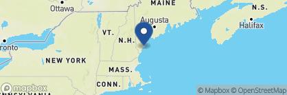 Map of Kennebunkport Inn, New England