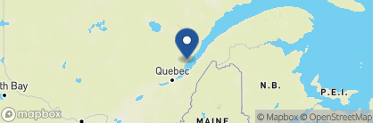 Map of Hotel Le Germain Charlevoix, Canada