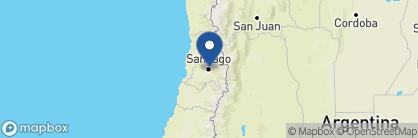 Map of Hotel Luciano K, Chile
