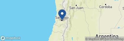 Map of Singular Hotel, Chile