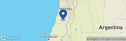 Map of Casa Silva, Chile