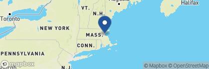 Map of Loews Boston Hotel, New England