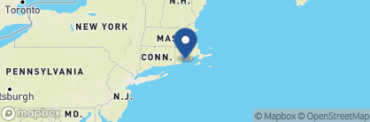 Map of Marshall Slocum Inn, New England