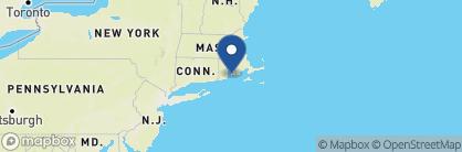 Map of Hotel Viking, New England