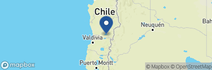 Map of Villarrica Park Lake Hotel, Chile