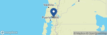 Map of Hotel Petrohue, Chile