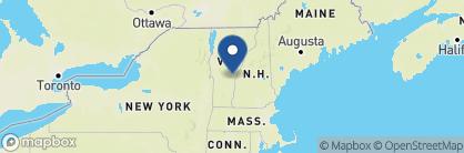 Map of Woodstock Inn & Resort, New England