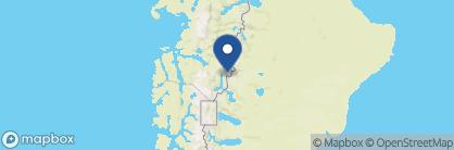 Map of Robinson Crusoe Lodge, Chile