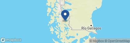 Map of Hosteria Rio Serrano, Chile