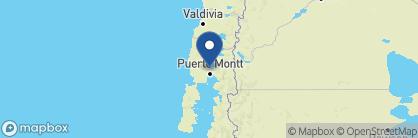 Map of Casa Molino, Chile