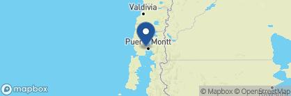 Map of Skorpios II, Chile