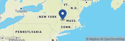 Map of Kemble Inn, New England