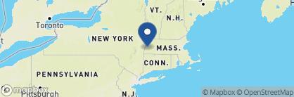 Map of Inn at Stockbridge, New England