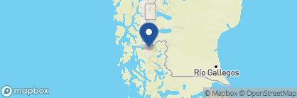 Map of Awasi Patagonia, Chile