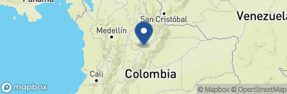 Map of Casa Terra, Colombia
