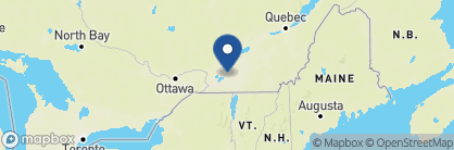 Map of Hotel Le Cantlie Suites, Canada