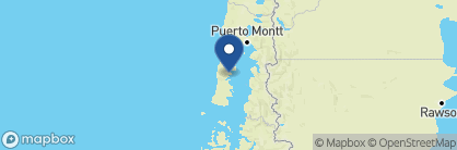 Map of Tierra Chiloé, Chile