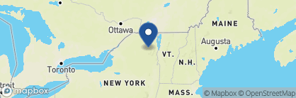 Map of Crowne Plaza Resort, Lake Placid, US