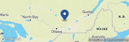 Map of Ermitage du Lac, Canada
