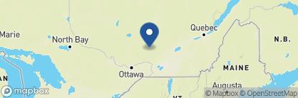 Map of Hotel Quintessence, Canada