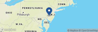 Map of Radisson Blu, Philadelphia, US