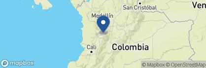 Map of Hacienda Termales La Quinta, Colombia
