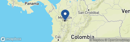 Map of Patio del Mundo, Colombia