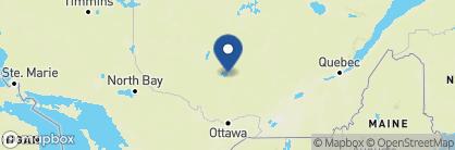 Map of Le Village Windigo, Canada