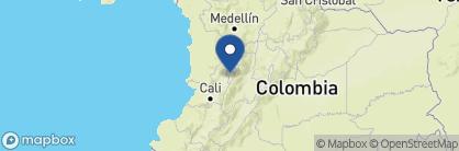 Map of Hacienda Bambusa, Colombia