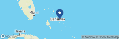 Map of French Leave Resort, Bahamas