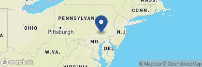 Map of Lancaster Arts Hotel, USA