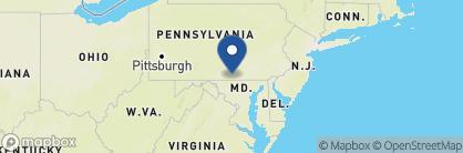 Map of Gettysburg Hotel, US