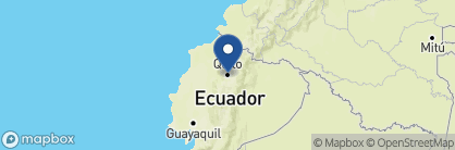 Map of Casa Gangotena, Ecuador