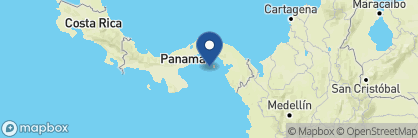 Map of Hacienda del Mar, Panama