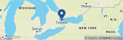 Map of Fairmont Royal York, Canada