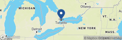Map of Courtyard by Marriott, Canada