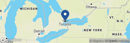 Map of Le Germain Hotel, Canada