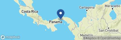 Map of The Bristol, Panama