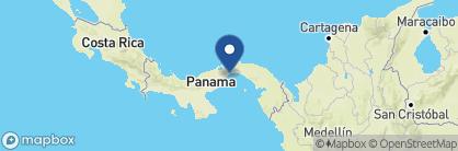 Map of American Trade Hotel, Panama