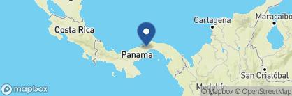 Map of Gamboa Rainforest Resort, Panama