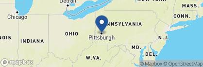 Map of Omni William Penn, USA