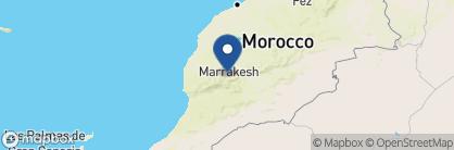 Map of Domaine Malika, Morocco