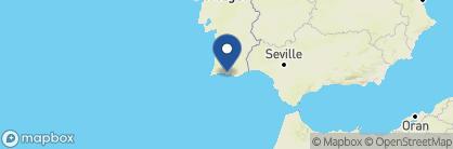 Map of Vila Joya, Portugal