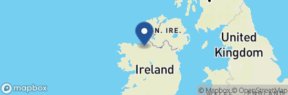 Map of Coopershill House Hotel, Ireland