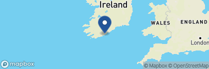 Map of Blue Haven Hotel, Ireland